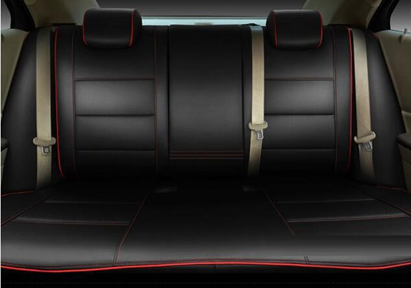 Classic Sports Style Streamline Design With Trimmings Customed Car Seat Covers