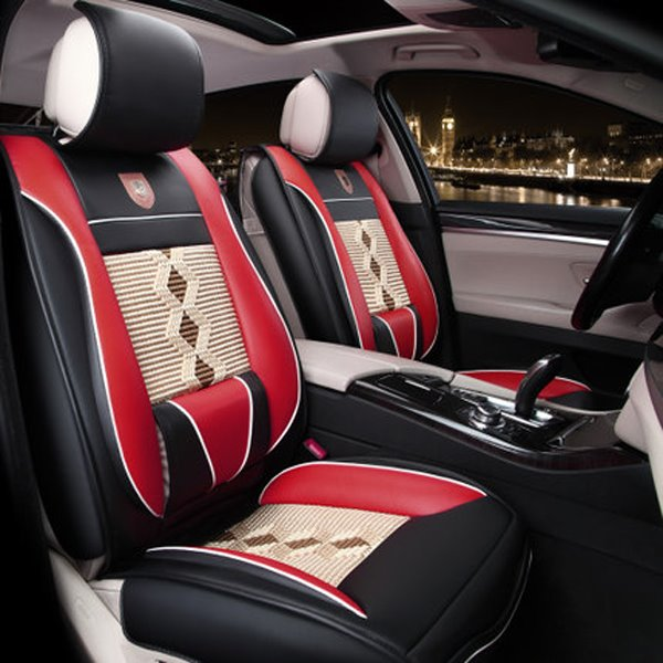 Diamond Patterns Design Universal Car Seat Covers Pic
