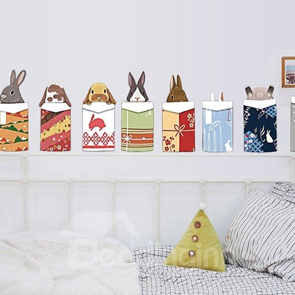 Cute Animal Head Pattern Home Decorative Wall Sticker