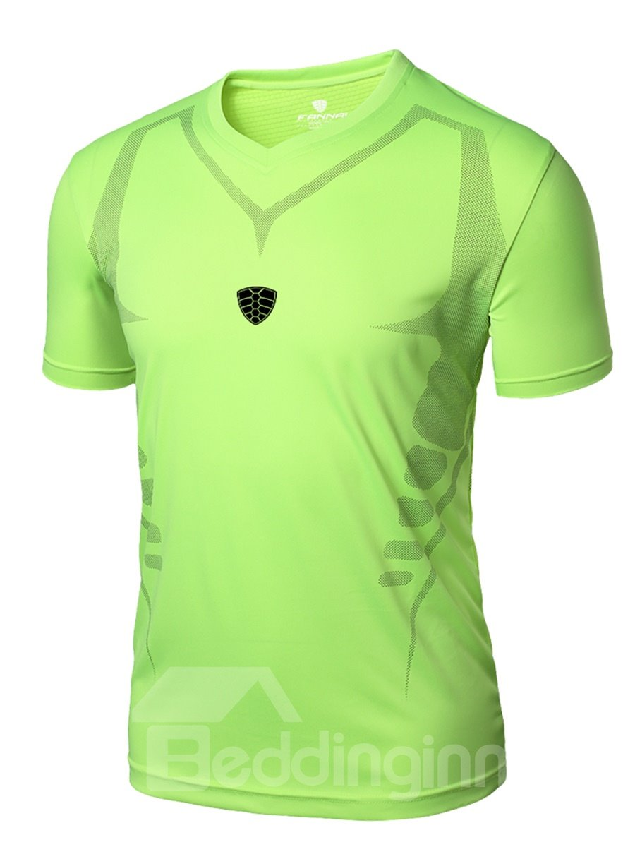 Solid Color Quick-Dry Road Bike Cloth with Short Sleeve Breathable Cycling Jersey