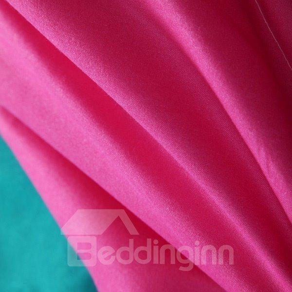 Modern Unique Contrast Color Soft Polyester Quilt