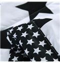 Modern Lucky Star Reactive Printing Polyester Quilt