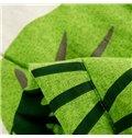 Unique Green Tree Design Cotton Summer Quilt