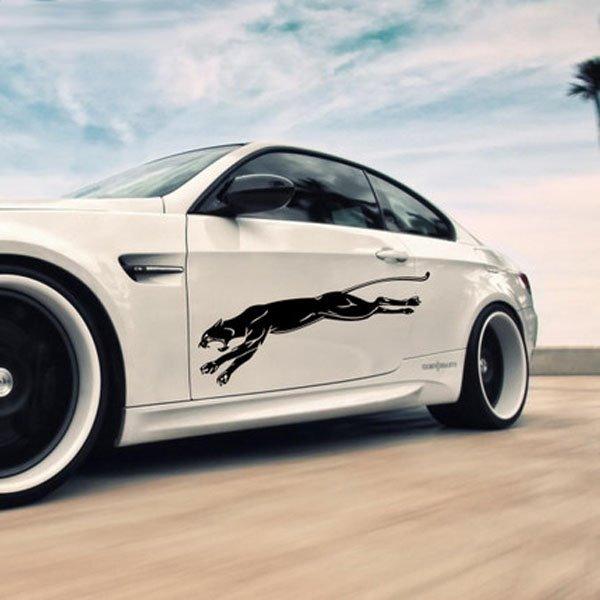 Black Domineering Panthers Design Popular Car Sticker Beddinginncom - Car sticker design
