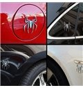 Three-Dimensional Mental Spider Creative Car Sticker