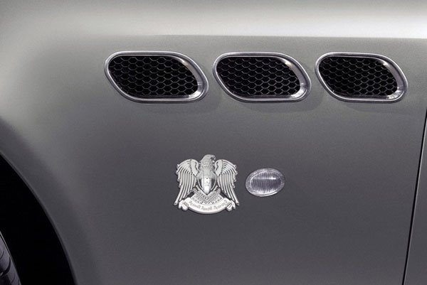 3D Aladdin Eagle Shape Alloy Material Car Sticker