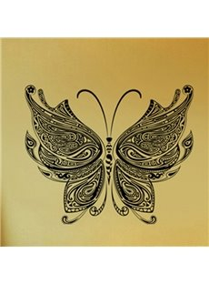 Amazing Black Butterfly Pattern Home Decorative Wall Sticker