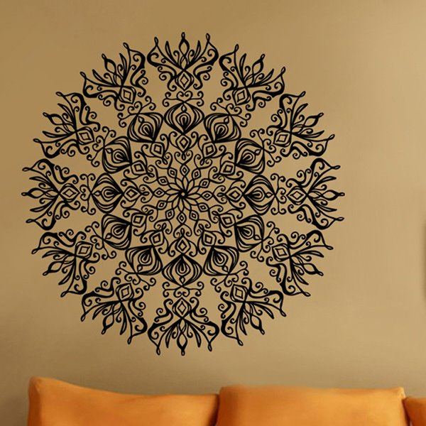 Creative Round Decorative Pattern Wall Stickers