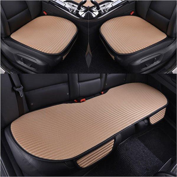 Classic Simple Business Cooling Material Car Seat Mat