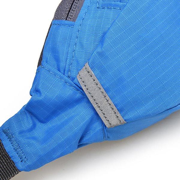 1L Lightweight Portable Waterproof Nylon Waist Bag