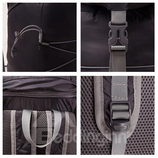 30L Waterproof Foldable Nylon High Capacity Camping Cycling Hiking Backpack