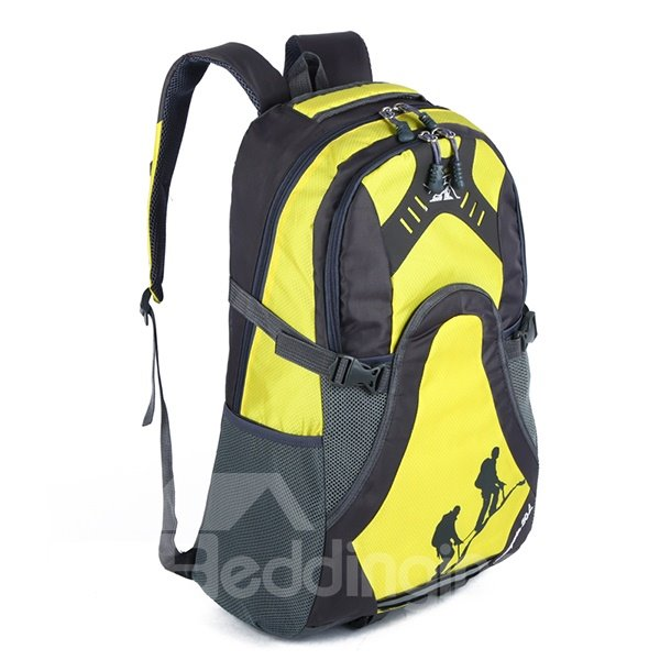 30L Outdoor Colorful Waterproof Resistant Hiking Camping Cycling Backpack