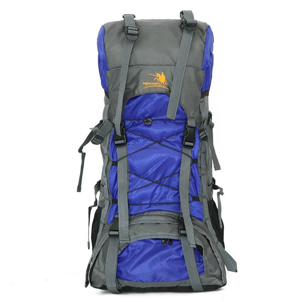 60L Waterproof Nylon Camping Hiking Cycling Extra High Capacity Outdoor Backpack