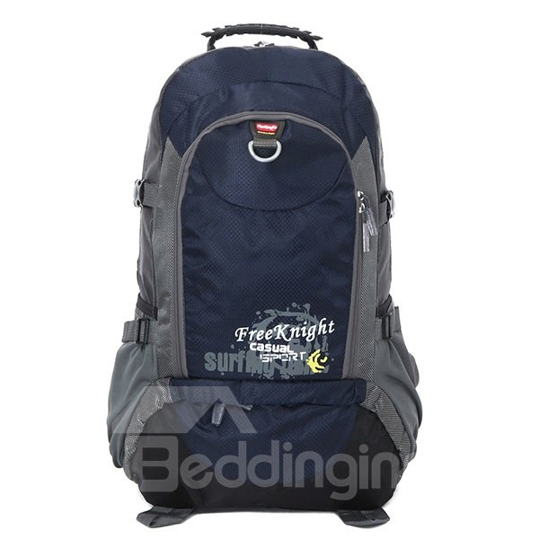 40L Popular High Capacity Nylon Camping Hiking Cycling Resistant Backpack