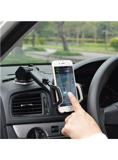 Strong Suction Cup Base 270 Degree Rotation Car Phone Holder