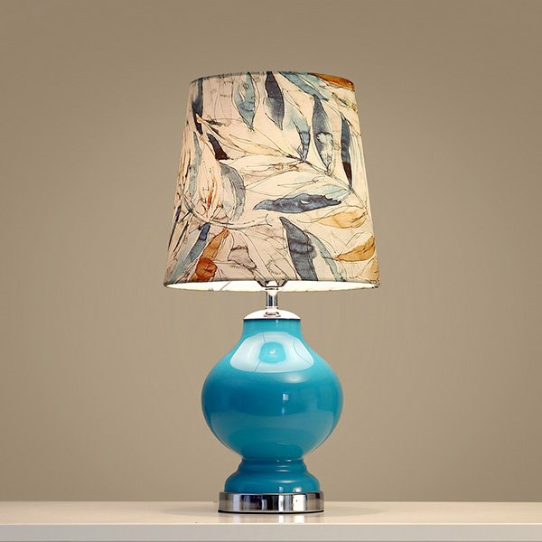 Creative Fashion Blue Birds and Tree Table Lamp for Home Decoration