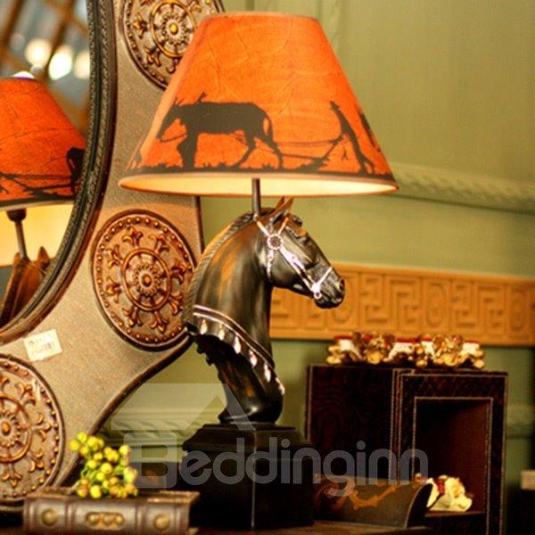 Modern Creative Horse Head Decorative Table Lamp