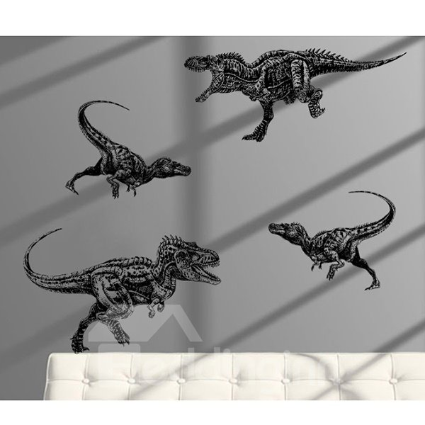 Amusing Creative Dinosaur Pattern Wall Stickers