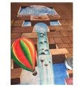 Creative 3D Sky and Balloons Pattern Area Rugs