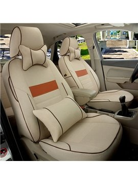 Gorgeous And Textured Newest Luxurious Universal Car Seat Cover