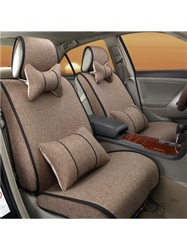 Solid Cool Design And Easy Breathable Performance Universal Car Seat Cover
