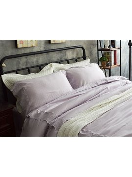 Princess Style Pink Lace 4-Piece Cotton Bedding Sets