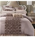 Classical Retro Stereoscopic Embellishment 6-Piece Polyester Duvet Cover Sets