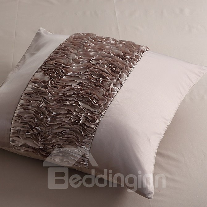 Luxury Retro Stereoscopic Embellishment 6-Piece Polyester Duvet Cover Sets