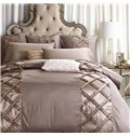 European Style Retro Stereoscopic Embellishment 6-Piece Polyester Duvet Cover Sets