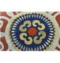 New Ethnic Style Embroidery Round Throw Pillow