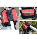 Water Resistant Bike Bag Cycling Rear Seat for 4.3 Inch Mobile Phone Holder
