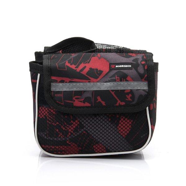 Waterproof Front Frame Tube Double Bike Bag Multi-function Cycling Bag
