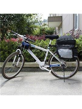 Waterproof Bike Tail Trunk Bag Cycling Pannier Rack Handbag Bicycle Bag