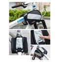 Bike Waterproof Frame Front Tube Pannier Cycling Saddle Bag