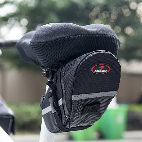 Bike Seat Pack Cycling Strap-on Bag Cycling Saddle Pouch Bag