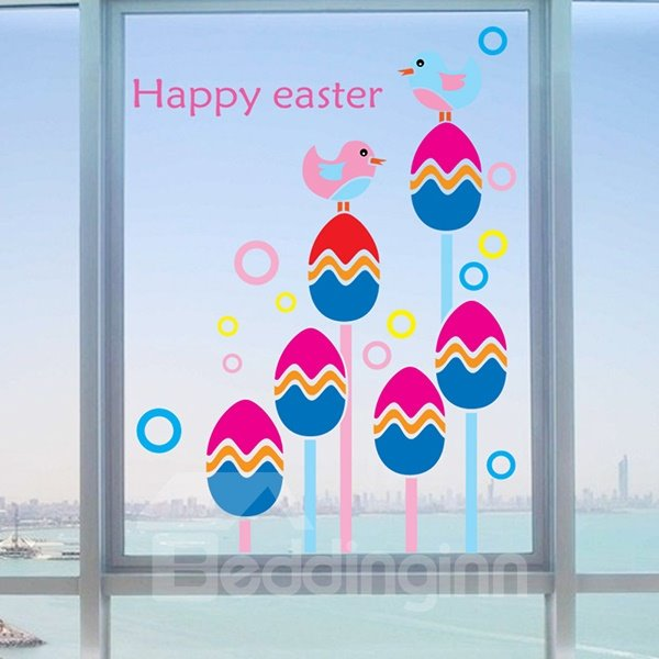 New Arrival Easter Wall Stickers for Home Decoration