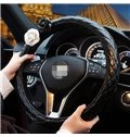 Elegant And Super Comfortable With Flower Steering Wheel Cover