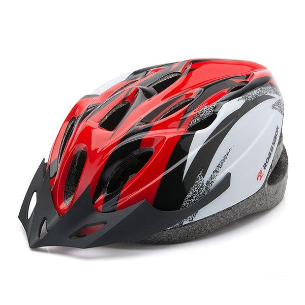 18 Flow Vents Road Cycling Adjustable Mountain Bike Helmet