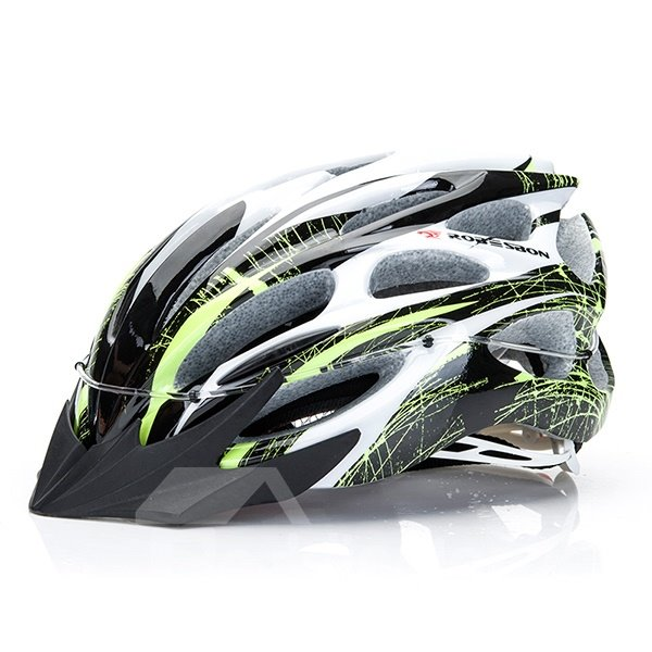 22 Flow Vents Adult Black and Red Bike Road Cycling Safety Helmet