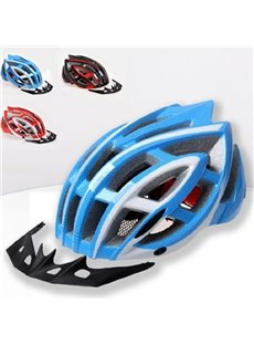 28 Flow Vents Adult Safety Adjustable Road Cycling Mountain Bike Bicycle Helmet