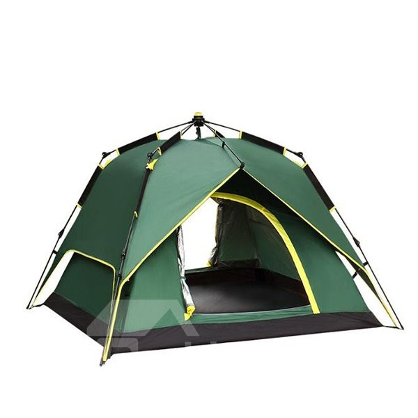3-4 Person Automatic Double Layers Instant Camping Outdoor Tent