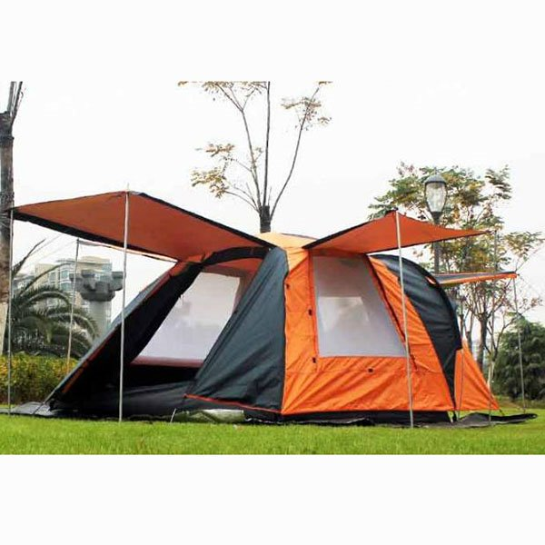 Super 3 4 Person Waterproof One Bedroom And One Living Room Instant Camping Tent Download Free Architecture Designs Rallybritishbridgeorg