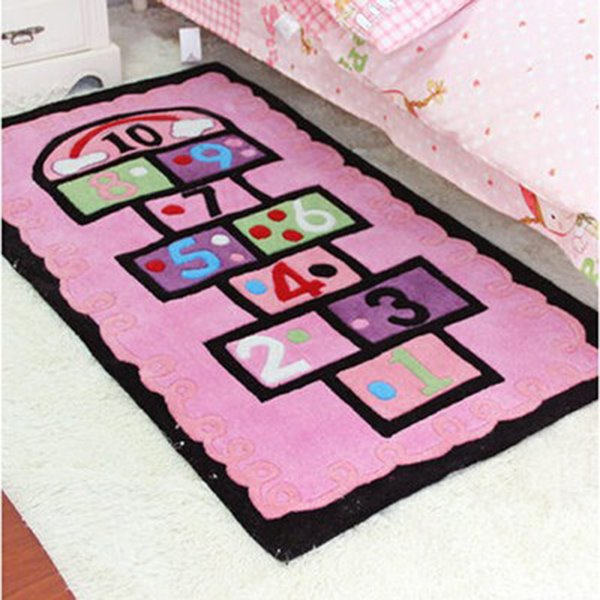 Counting on a Hopscotch Rug