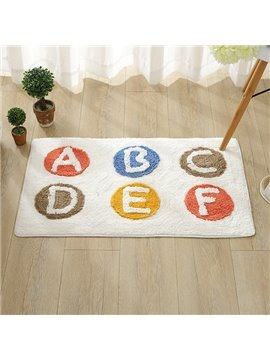 Simple Letter Pattern Home Decorative Doormat