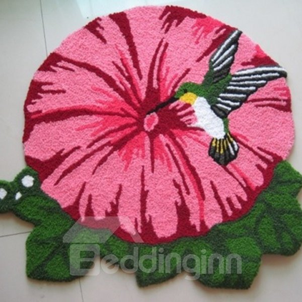 New Arrival Flower and Bird Home Decorative Area Rug