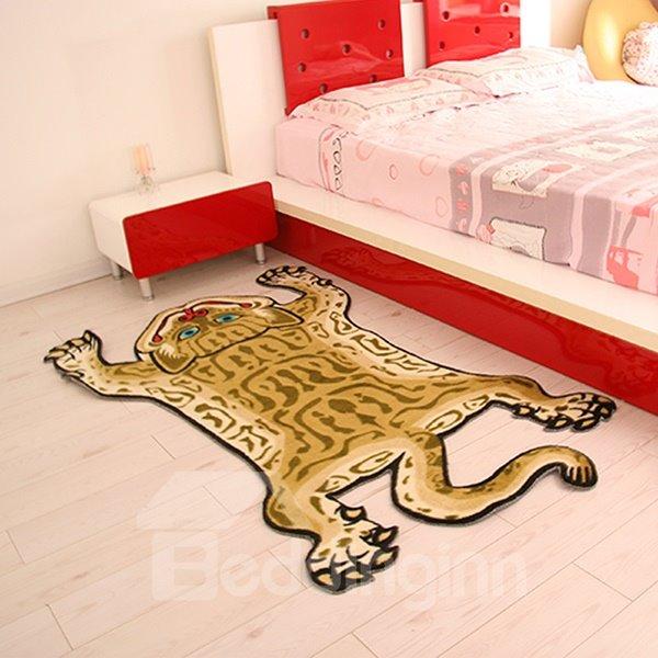 Creative Tiger Shape Home Decorative Area Rug