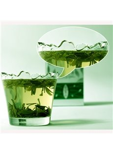 Transparent Simple Style Breach Shape Tea Cup