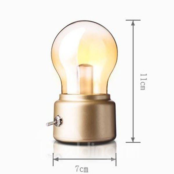 Simple Cute Classic Bulb Decorative Night Light