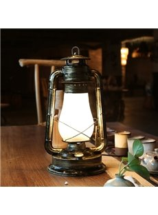 Black Classic Iron Home Decorative table Lamp