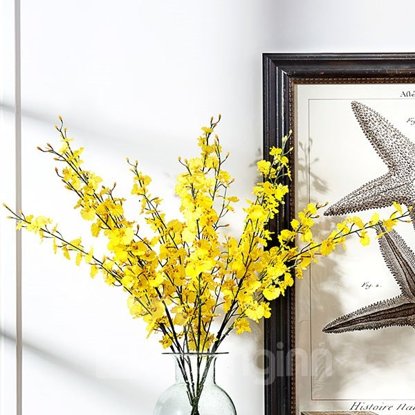 Beautiful Oncidium hybridum Artificial Flowers